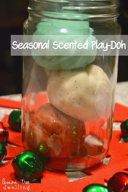 How to make scented play doh!