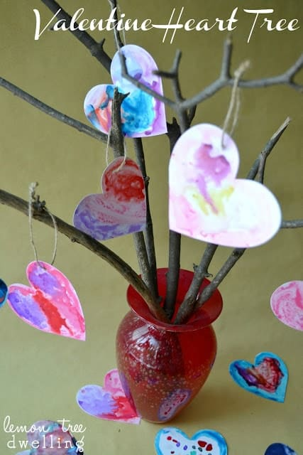 Valentine Heart Tree