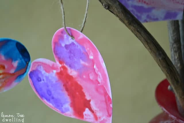watercolor Valentine heart