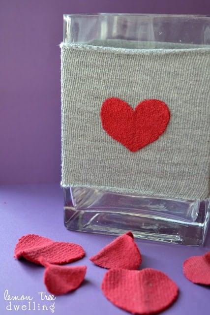 Valentine's Vase Sleeve