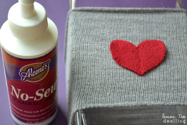 Valentine's Vase Sleeve craft project