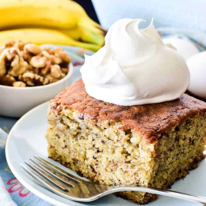 Grandma's Banana Cake
