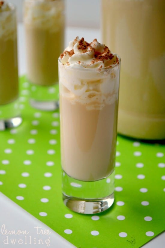 Homemade Irish Cream is so simple and easy to make, and taste much better than the store bought kind!