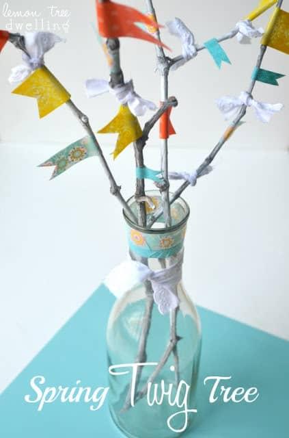 spring twig tree