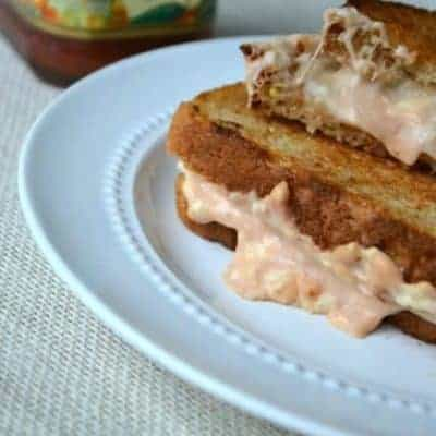 Sweet 'n' Hot Creamy Grilled Cheese