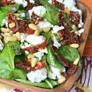 Sicilian Spinach Salad