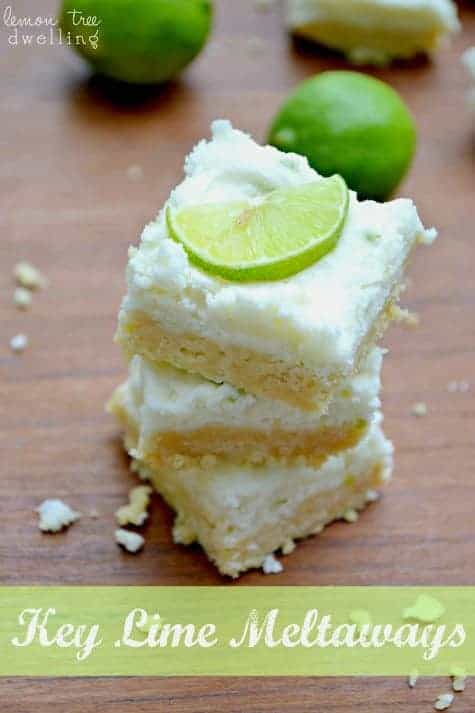 No Bake} Key Lime Meltaways | Lemon Tree Dwelling