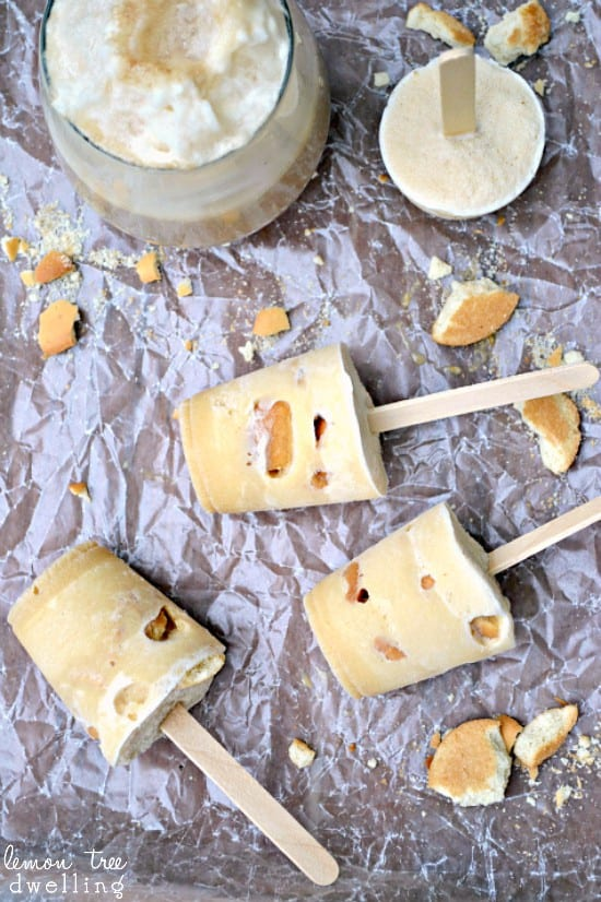 Root Beer Float Pops - all the flavors of a float, in a popsicle!