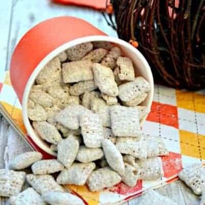 Pumpkin Nutella Muddy Buddies