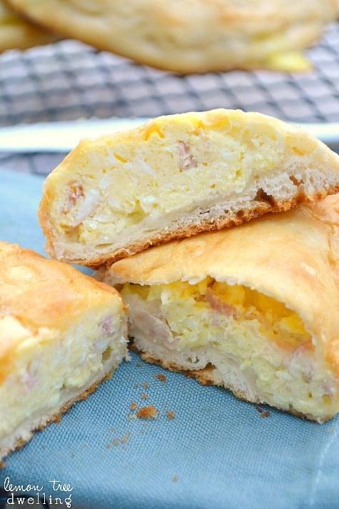 Ham, Egg & Cheese Breakfast Pockets 5b