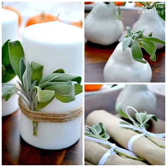 3 Simple Ways To Decorate With Sage