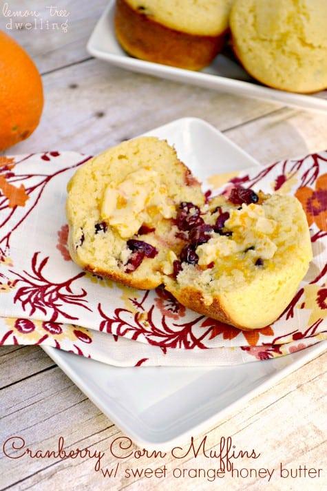 Cranberry Corn Muffins 1