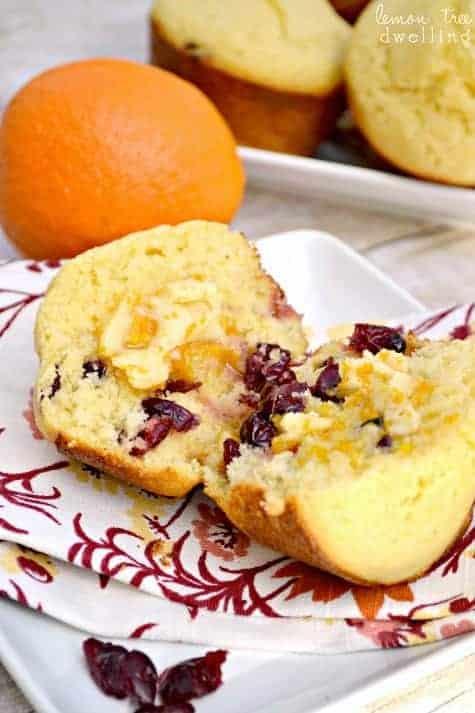 Cranberry Corn Muffins 2