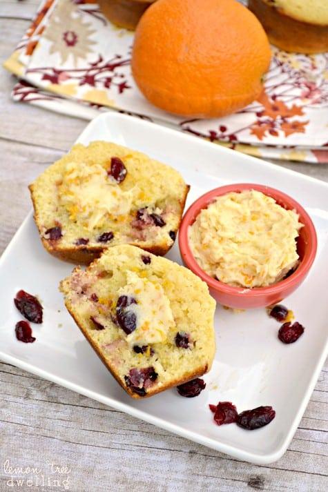 Cranberry Corn Muffins 5