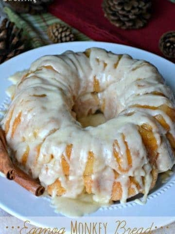 Monkey Bread is a perfect breakfast edition for Christmas morning.
