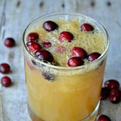 Brandy Slush will be your favorite drink this holiday season!
