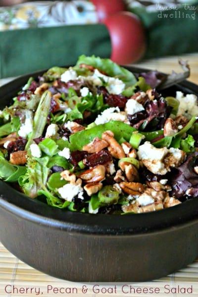 Cherry, Pecan & Goat Cheese Salad 1 Small