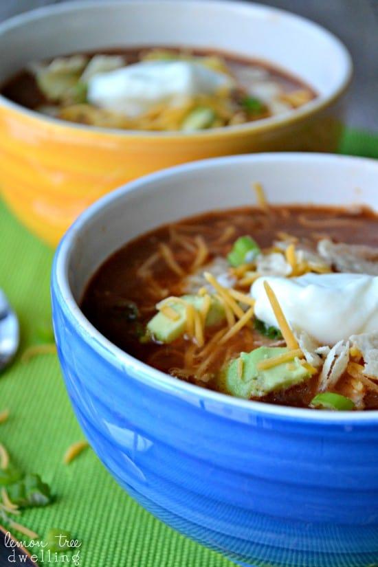 Chicken Tortilla Soup 1