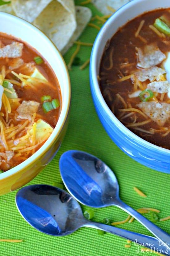 Chicken Tortilla Soup 4