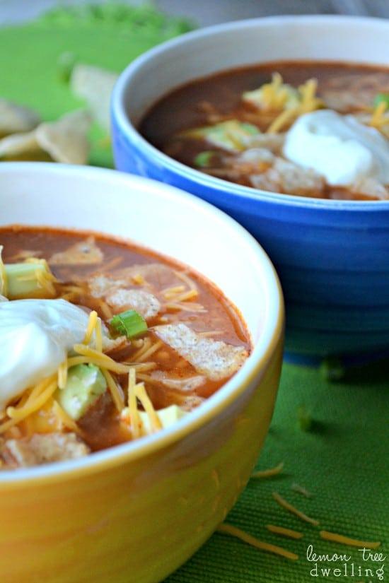 Chicken Tortilla Soup 5