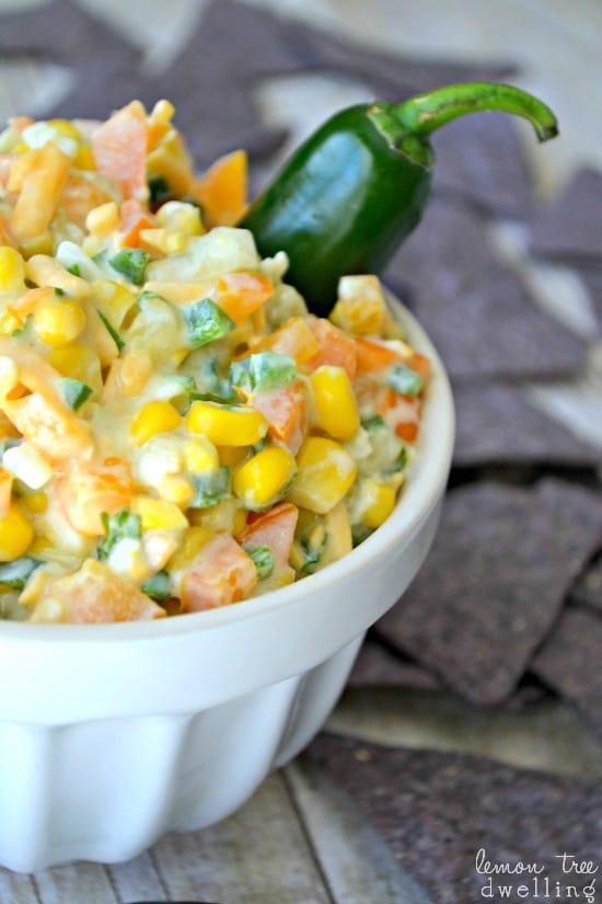 Creamy Jalapeno Corn Dip 1