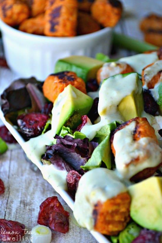 Loaded Sweet Potato Tot Salad 3c