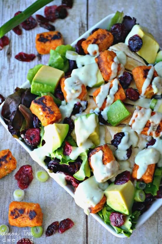 Loaded Sweet Potato Tot Salad 5c