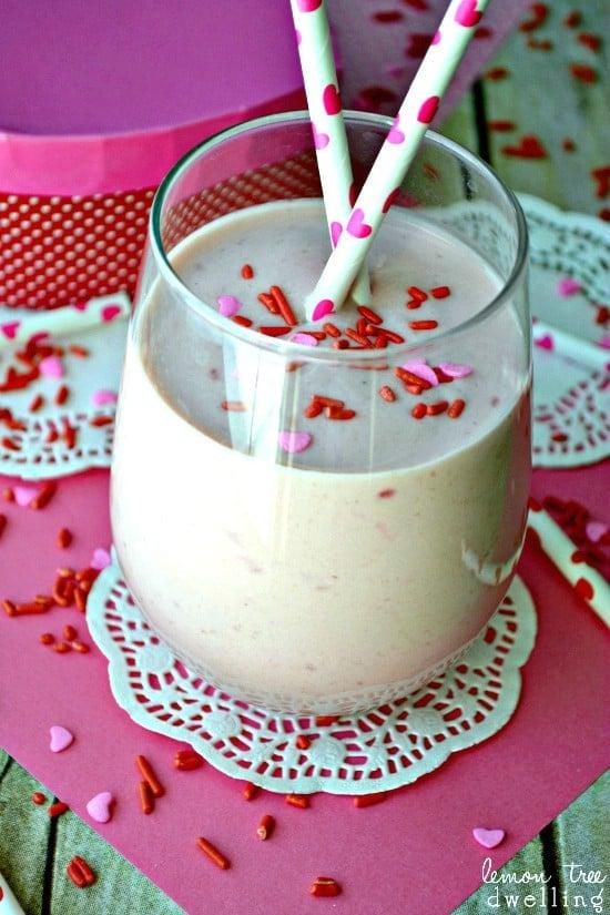 Raspberry Cheesecake Smoothie 5b