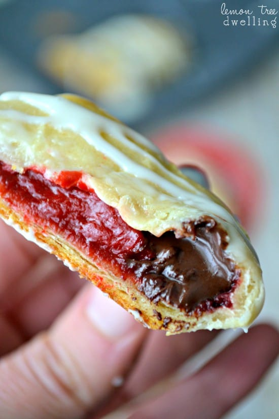 Red Velvet Cheesecake Crescent Rolls 1