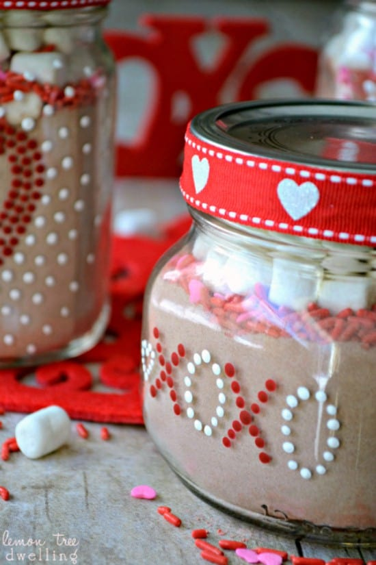 Valentine's Day Gift Jars are the perfect gift to show you love someone.