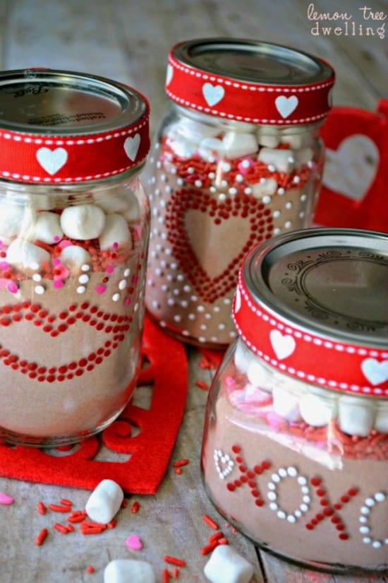 Valentines Day Gift Jars Lemon Tree Dwelling