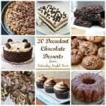 20 Decadent Chocolate Desserts from SNF
