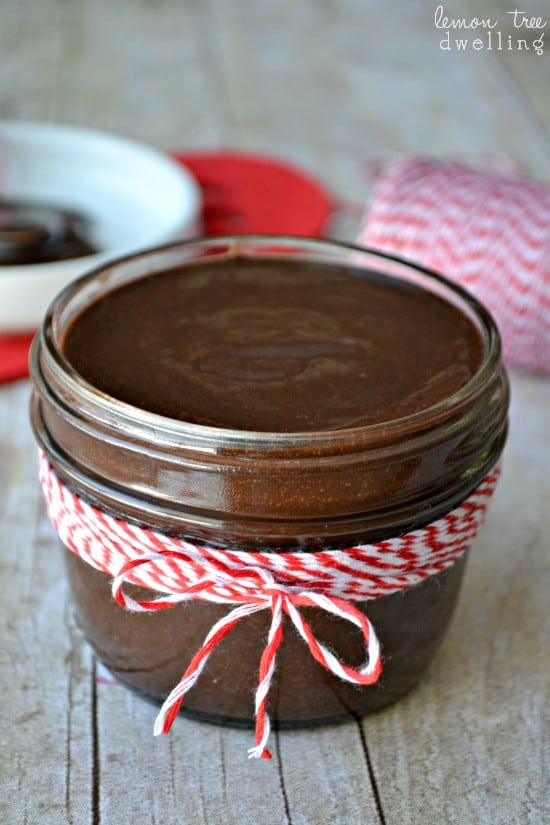 Homemade Chocolate Sauce - just 5 ingredients and perfect for drizzling on EVERYTHING!