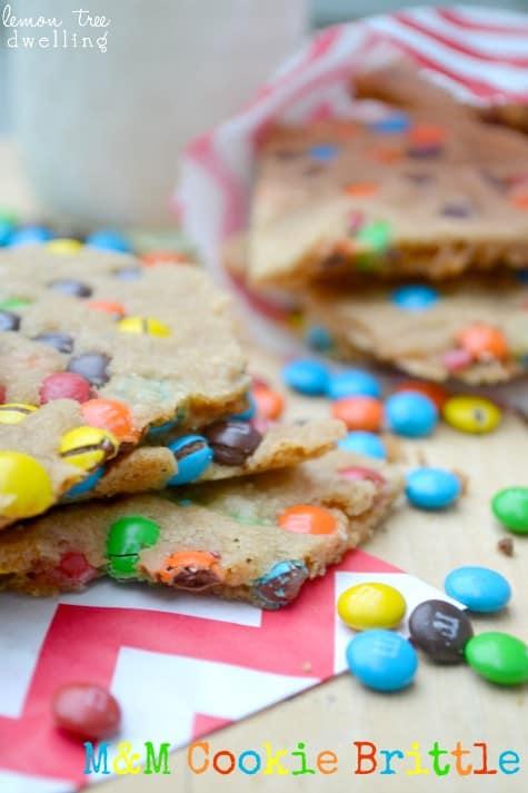 M&M Cookie Brittle 1c