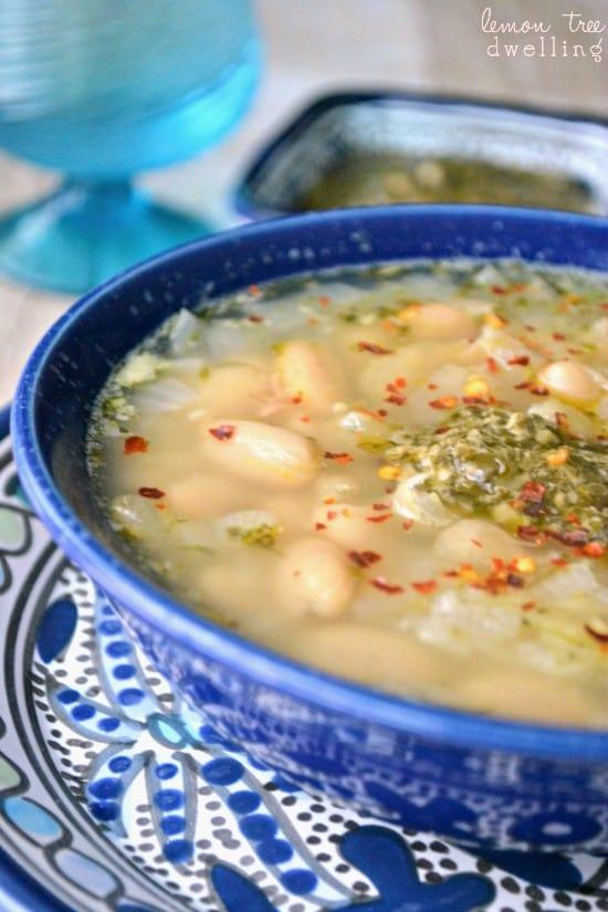 White Bean Pesto Soup 3b