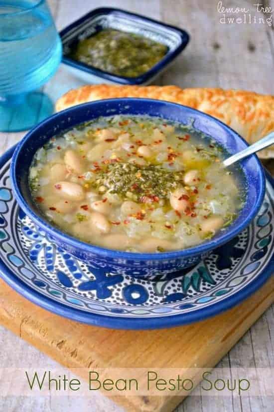 White Bean Pesto Soup 4b