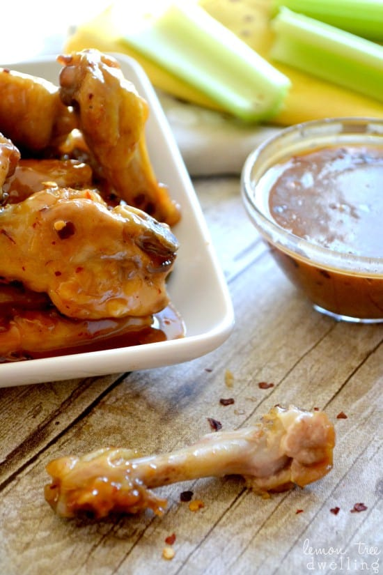 2 Spicy PB&Honey Wings 3