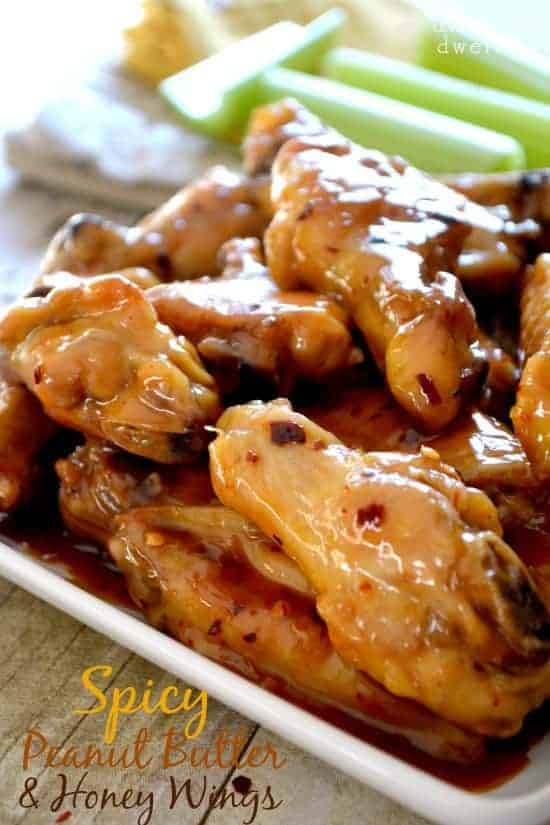 Spicy Peanut Butter & Honey Chicken Wings {Pick 'n Save Wing Madness ...