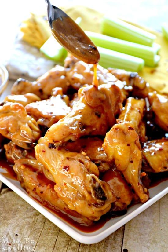 2 Spicy PB&Honey Wings 5