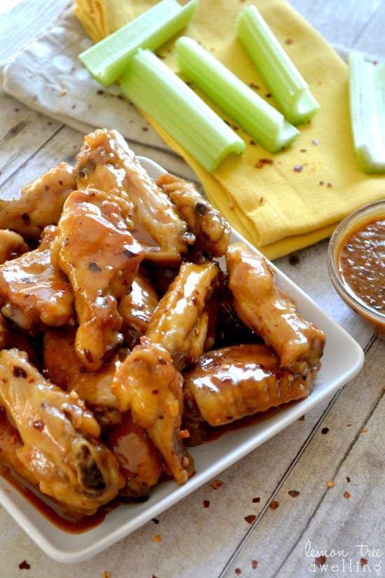 2 Spicy PB&Honey Wings 6