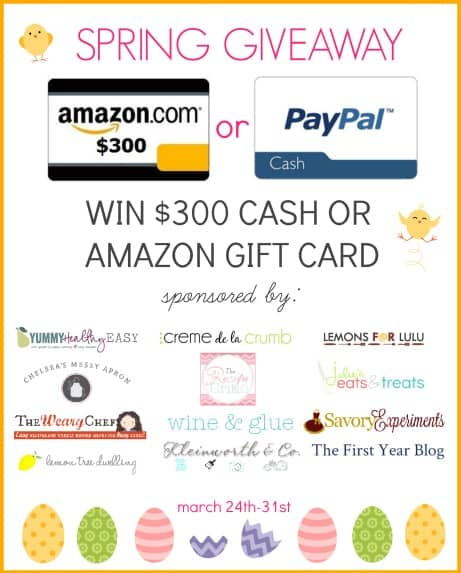 $300 Giveaway
