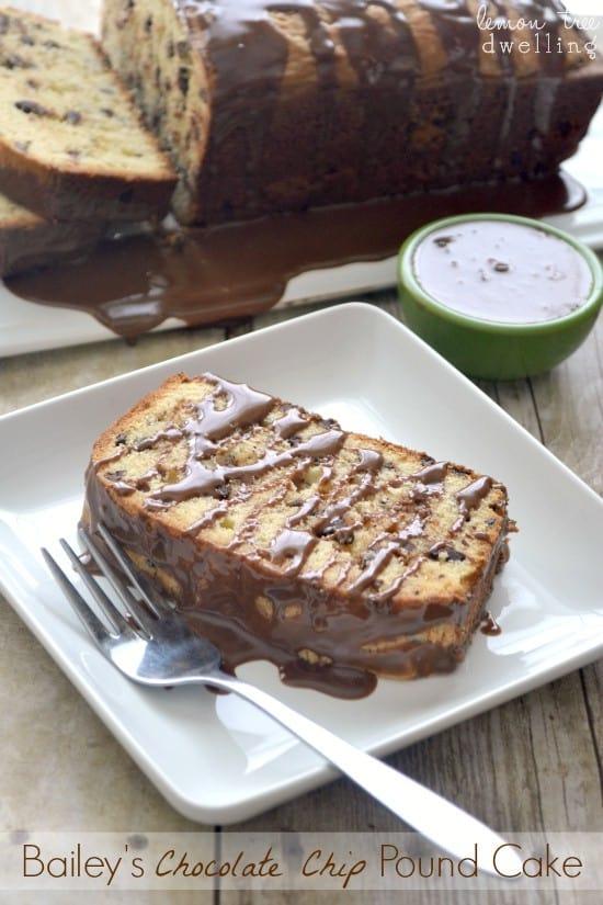 Bailey's Chocolate Chip Pound Cake 4