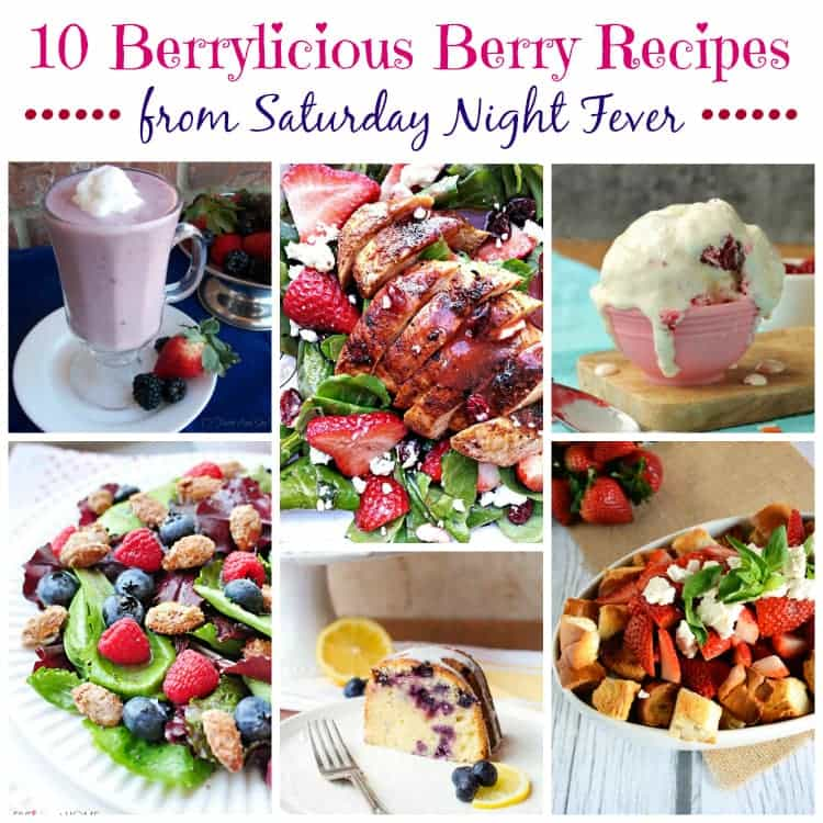 Berry Recipes Collage 1