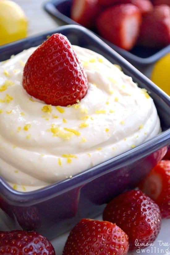 Creamy Lemon Dip 2