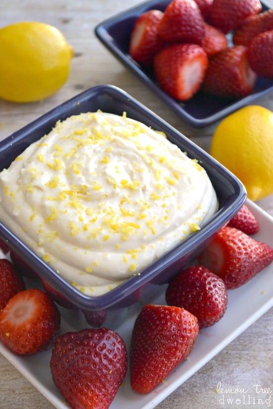Creamy Lemon Dip 3