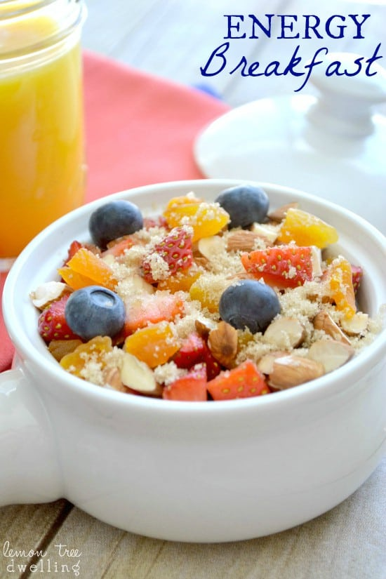 Energy Breakfast 5c