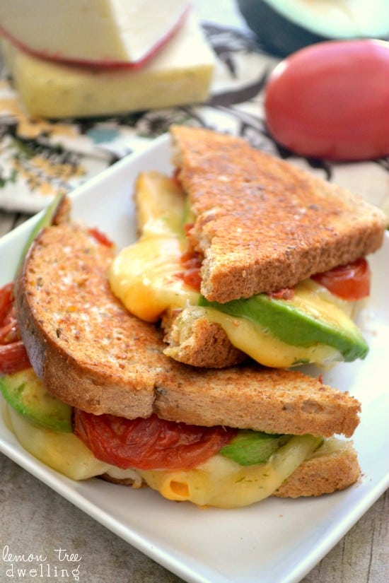 Loaded Grilled Cheese Sandwich 3b