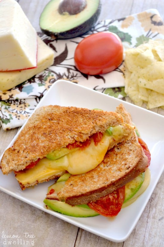 Loaded Grilled Cheese Sandwich 8