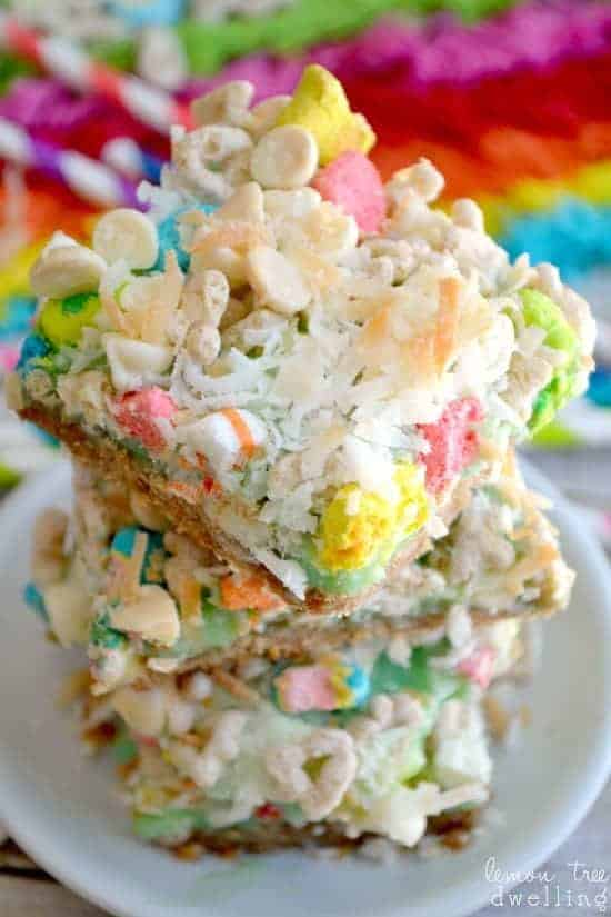 Lucky Charms Magic Bars 5