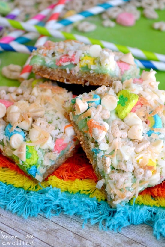 Lucky Charms Magic Bars 6